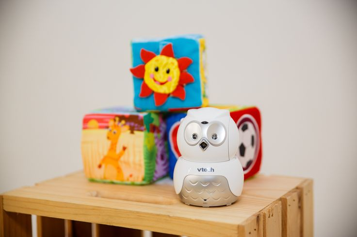 #giveaway happening now! Enter to win your own owl monitor #vtechnursery #ad Project Nursery Decor - Blissfully Domestic