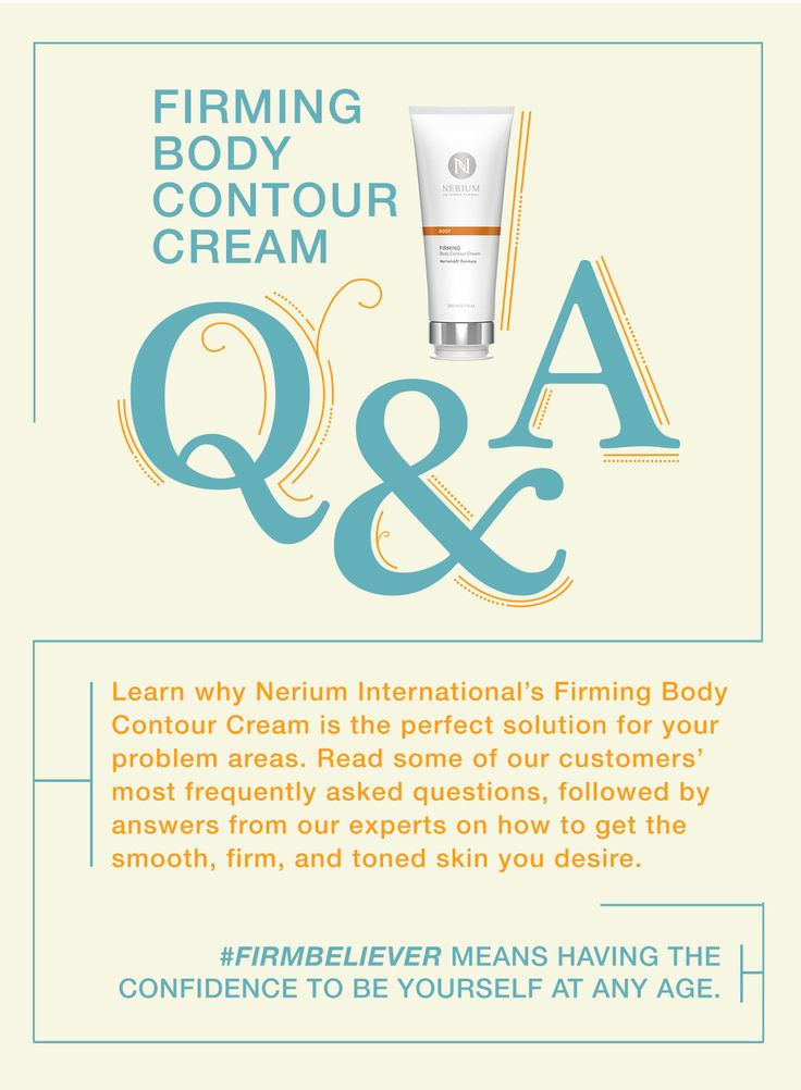 Nerium International Blog | What You Need to Know About Nerium's Skin Firming Cream