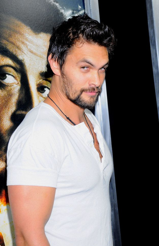If looks could kill, Jason Momoa would leave us all six feet under. | Just A Quick Reminder That Jason Momoa Is Too Damn Sexy