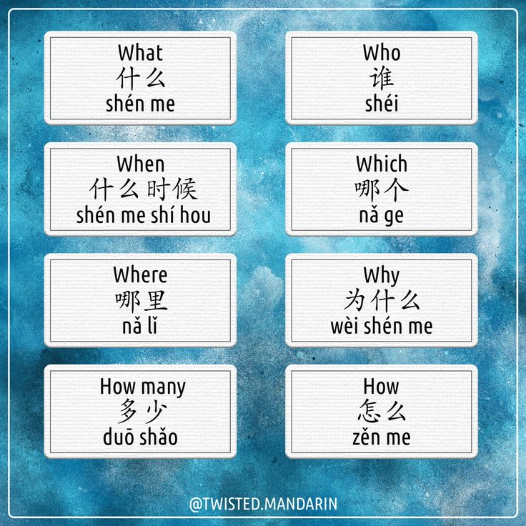 The Most Common Question Words Learnchinese Studychinese