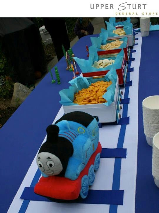 Thomas and friends theme party