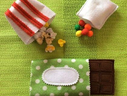 Sweet+Goodies+-+Felt+Play+Food