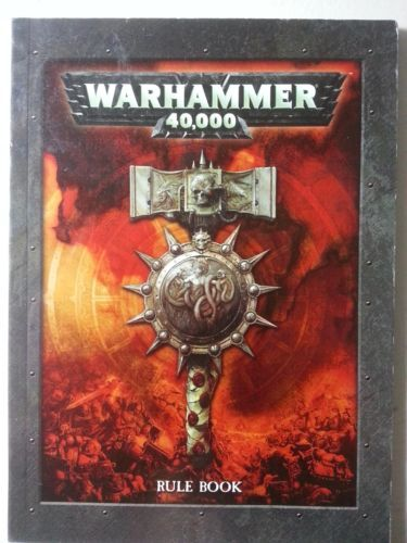 Warhammer 40K Rulebook 5th Edition Mini | eBay