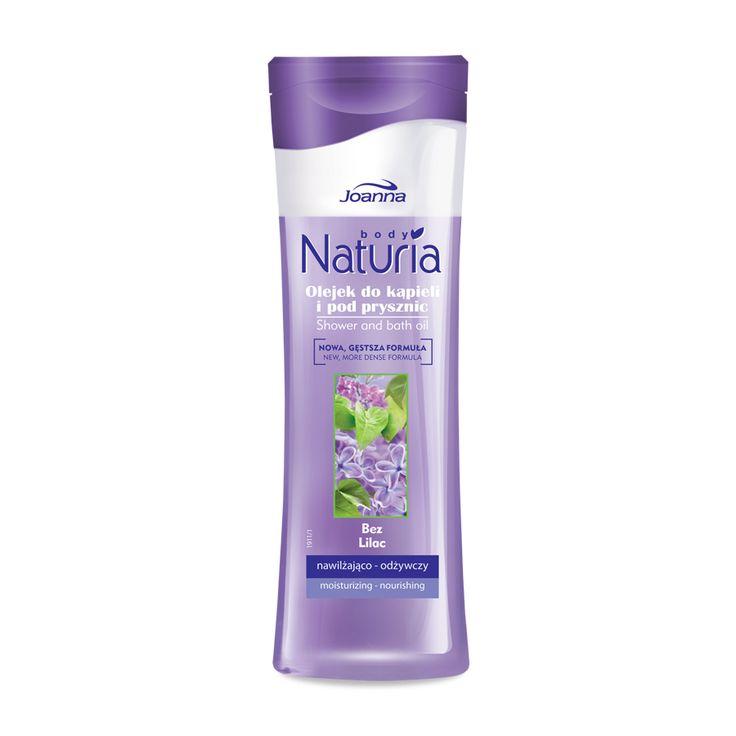Olejek kąpielowy o zapachu bzu. Zapach bzu posiada właściwości uspokajające i wyciszające organizm.