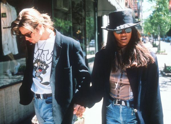 Brad Pitt & Robin Givens, early 90s