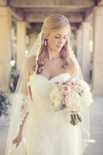 lace lined veil: Four Seasons, Wedding, Bouquets, Pictures, Lace Veils, Beautiful Bride, Hair, Lace Dresses, Sarahkatephoto Com