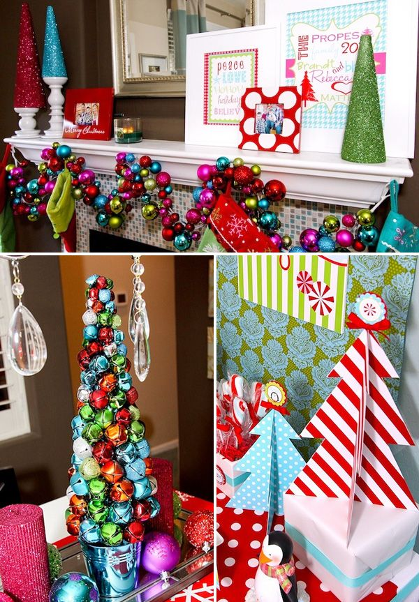 Winter Candyland Theme- use ornaments and such from Christmas for decor??