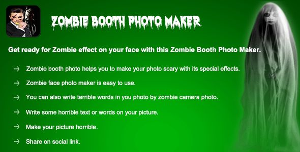 cool Zombie Booth Photo Maker (Photo Editing App) (Utilities)