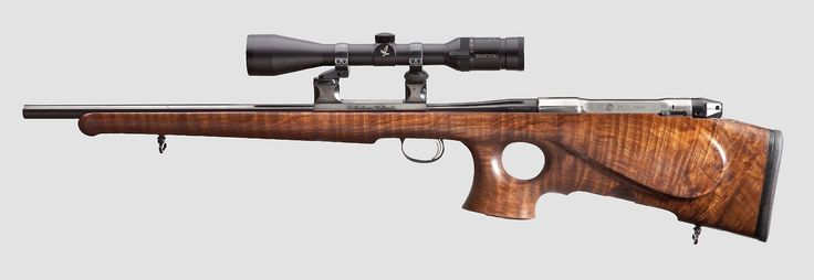 Heym SR 30 bullpup conversion by Jürgen Hensel in .338 Winchester Magnum - (source)
