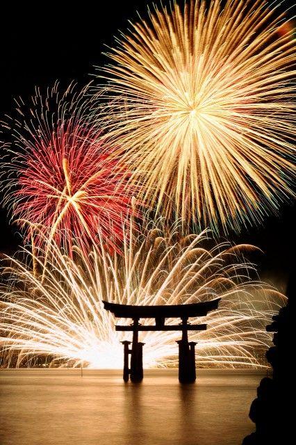 Les Feux d'artifice @ Miyajima  宮島 厳島神社