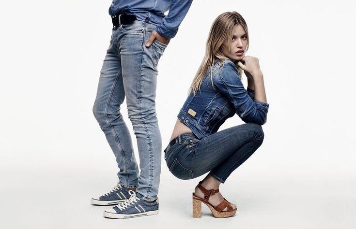 British denim brand Pepe Jeans enlists Georgia May Jagger for the first time as the face of its spring-summer 2016 campaign. In the past, models like Cara Delevingne, Jourdan Dunn and Behati Prinsloo have posed for the label. Starring alongside Simon Nessman, the blonde sports a casual mix of overalls, denim shirts and plaid shirts. …