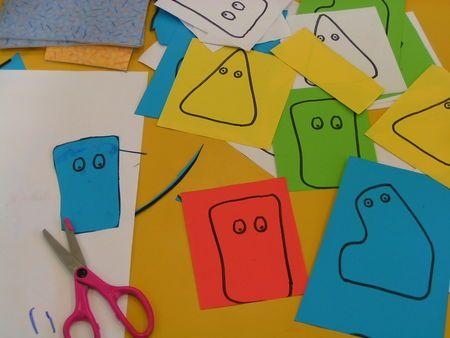 découper des formes simples - Le tour de ma classe