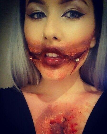 Slit mouth sfx