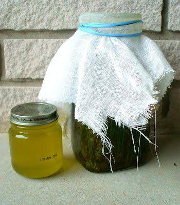 Lavender  Infused Oil DIY