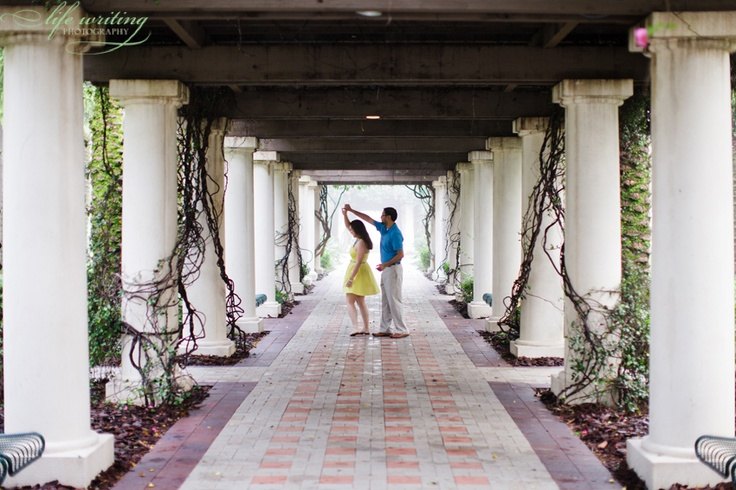 Our engagement pics taken October 2012 at the University of South Florida (where we met) in Tampa, Florida