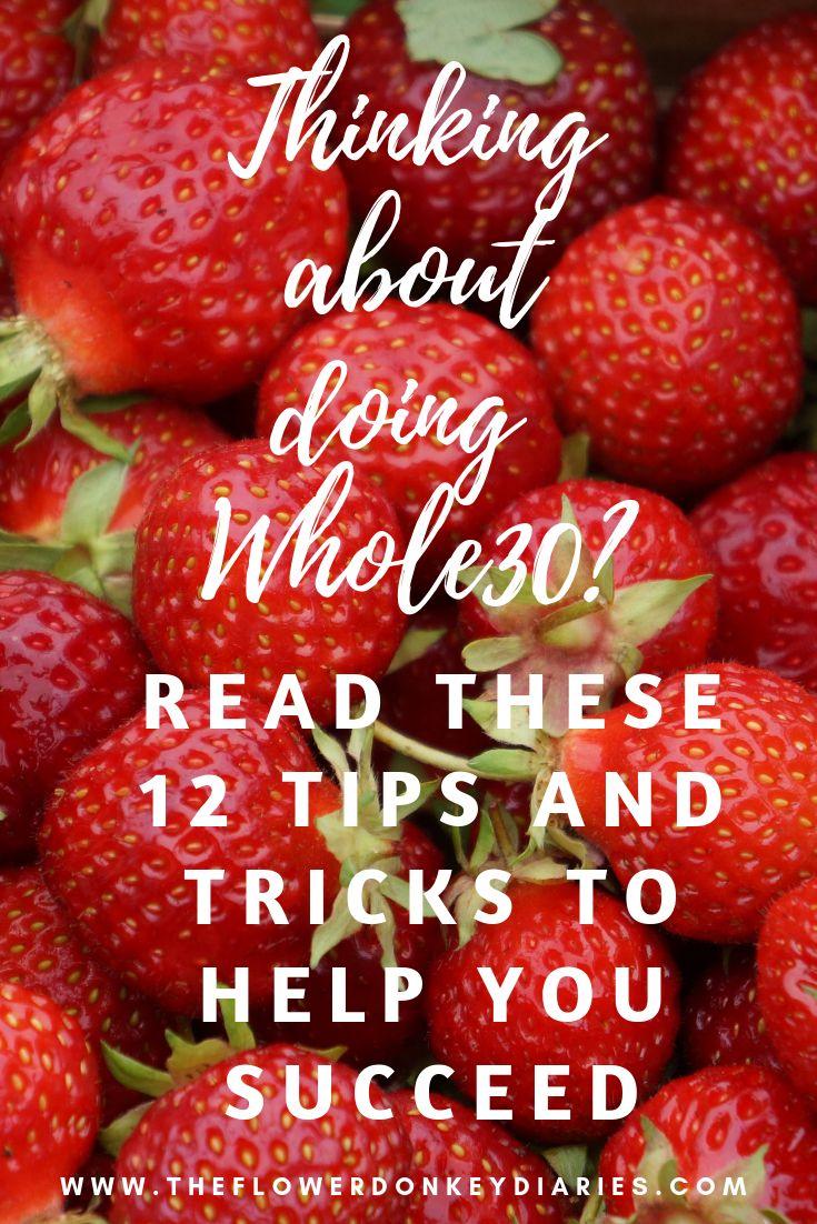 Denken Sie darüber nach, Whole30 auszuprobieren? Hier sind 12 Tipps und Tricks, die Ihnen helfen, …   – Food & Drink Recipes