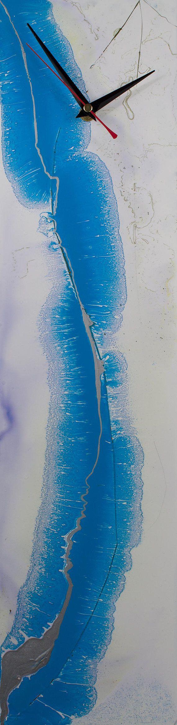 Window Treatments Glass Ornament Translucent Glass Art Abstract Suncatcher Sun Catcher Glass Wall Art Modern Clock Not Fused by ReformationsGlassArt Handmade Glass Clocks - by Craig Anthony. http://ift.tt/15oC6FM . Find it now at http://ift.tt/1WjbkVO!