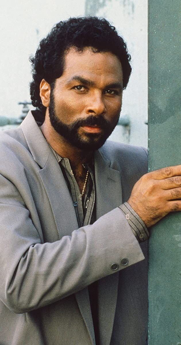 Actor Philip Michael Thomas Best Known As Detective Rico Tubbs In The Iconic 1980s Tv Series Miami Vice 1984 Attended Miami Vice Michael Thomas Vice Tv Show