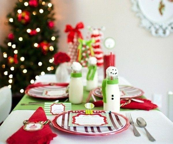 Tischdeko weihnachten basteln mit kindern  150 besten Tischdekoration Weihnachten Bilder auf Pinterest ...