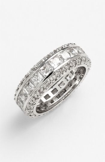 Ariella Collection Channel Set Eternity Band Ring available at #Nordstrom