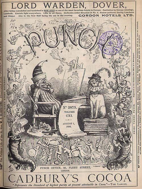 Richard Doyle was a great Victorian era caricaturist and illustrator