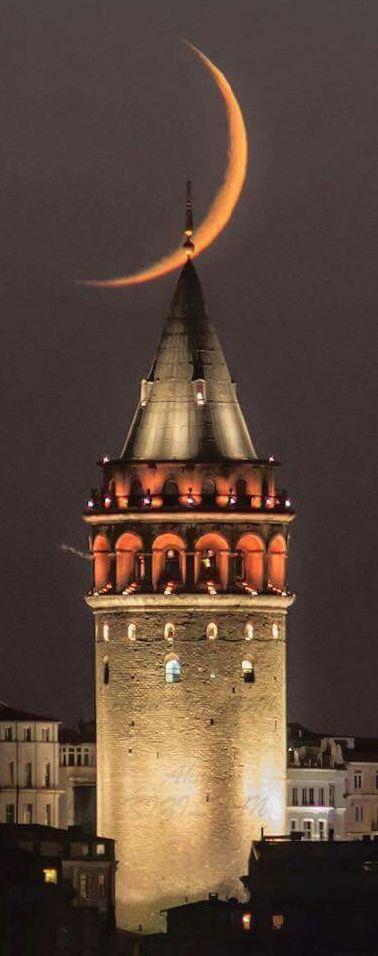 Galata tower, Istanbul, Turkey
