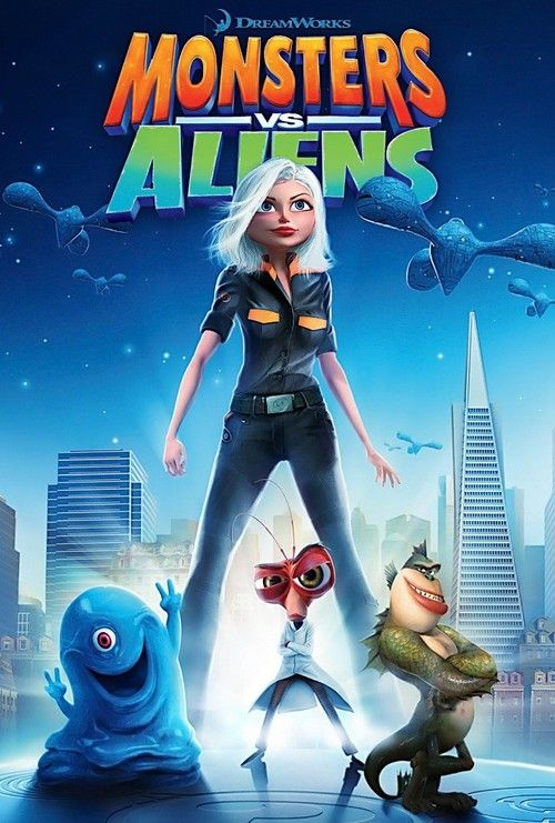 Monsters vs Aliens Game Movie ( All Cutscenes ) - YouTube
