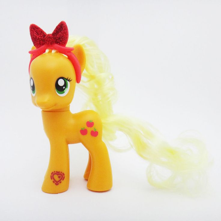 "Hasbro +3 My Little Pony 9cm 3.5"" Figure Cutie Mark Magic Friends Asst Applejack #Hasbro"