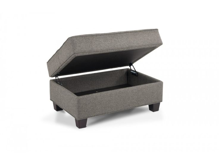 kasey storage ottoman ottomans bobs and storage. Black Bedroom Furniture Sets. Home Design Ideas