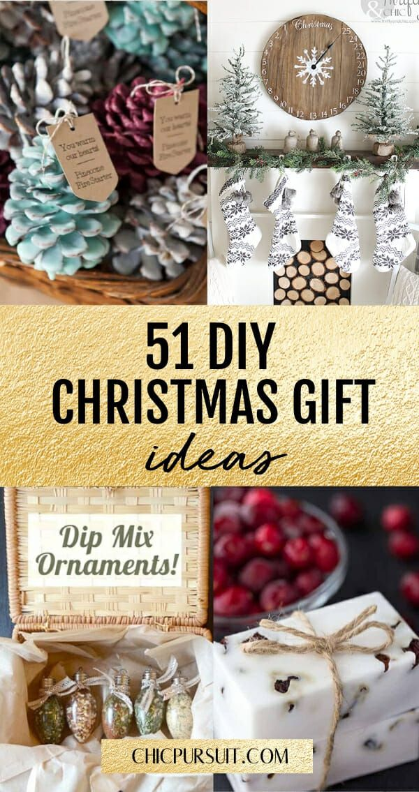 50 Genius Diy Christmas Gifts For Family Friends They Will Love Unique Christmas Gifts Diy Family Christmas Gifts Diy Christmas Gifts