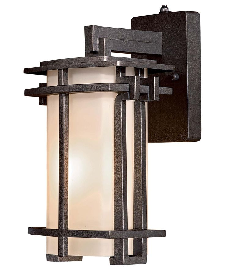 Shop For The The Great Outdoors Forged Silver 1 Light Height Outdoor Wall  Sconce From The Lugarno Square Collection And Save.