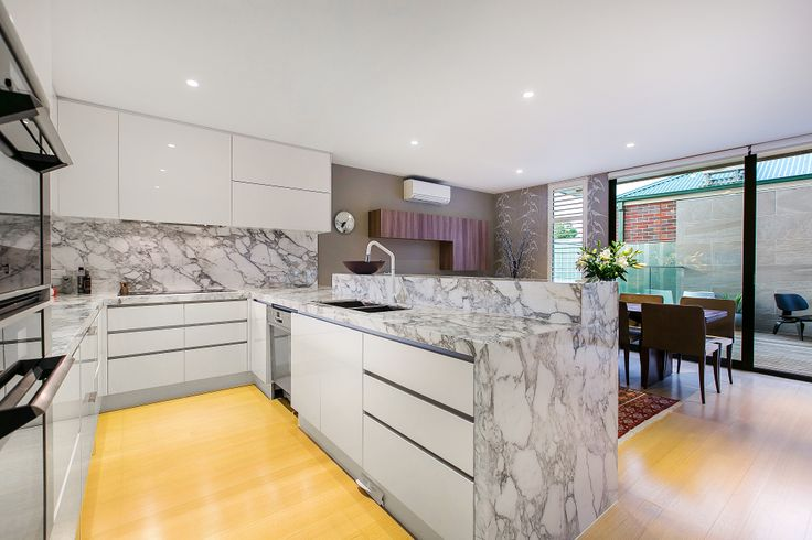Dulux natural white, Painted kitchen cabinets and White kitchens on