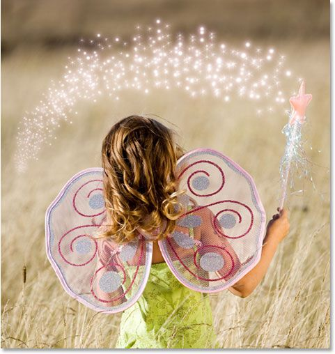 fantastic tutorial on adding sparkles to a photo with photoshop!