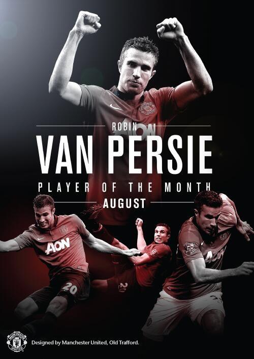 Robin van Persie the best player in the premier league.