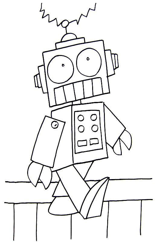 robot chicken coloring pages - 66 best robot kids crafts images on pinterest robot