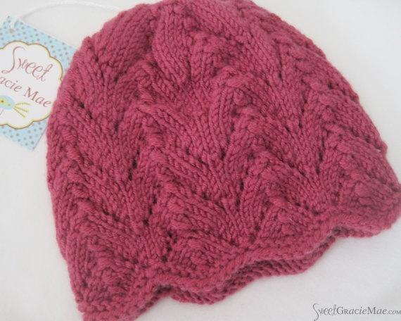 eyelet pattern Knitting Eyelet Lace Stitch Patterns Inspiration Pinterest...