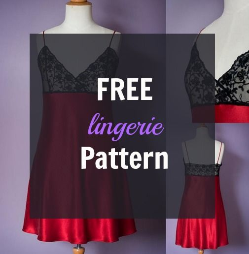 This Free Lingerie Pattern is for a luxurious slip with a bias cut skirt and lace bodice. It is a quick and easy to make and is a great project to start sewing lace and bias cut garments. Pattern instructions … Continued