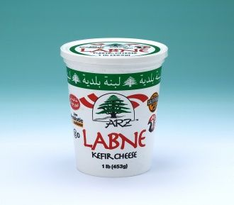 Arz Labneh (Strained yogurt or yogurt cheese) which has been strained in a cloth to remove the whey, giving a consistency between that of yogurt and cheese, while preserving yogurt's distinctive sour taste. Since straining removes whey, Labneh is higher in protein and lower in sugar and carbohydrates than unstrained yogurt, it is richer in texture, but low in fat.