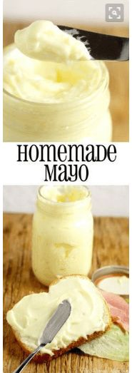 nice Homemade Mayonnaise