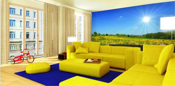 Fleuren uw interieur. Maakt niet uit wat uw smaak we iets voor je hebt. www.mural24.nl