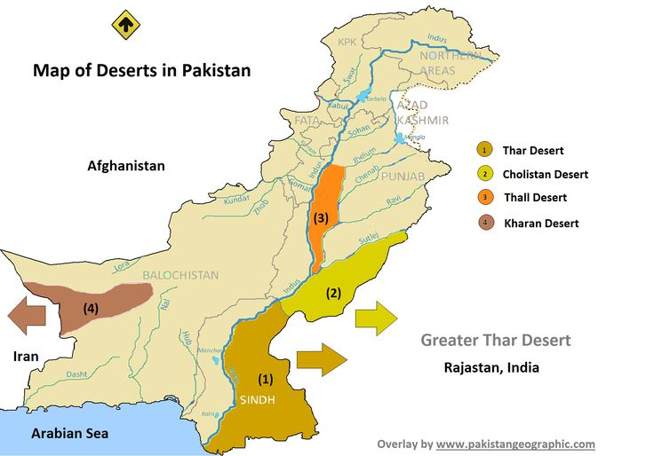 Deserts On The Map Of Pakistan Google Search Pak