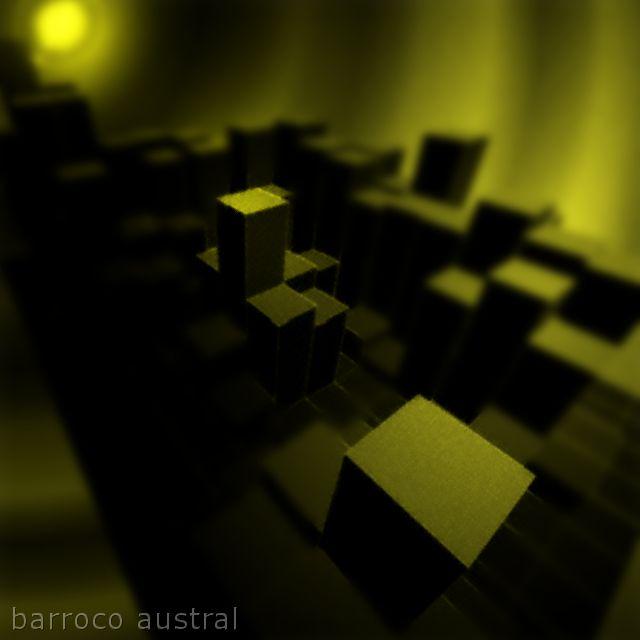 soledades en la ciudad pintura digital por BARROCO AUSTRAL