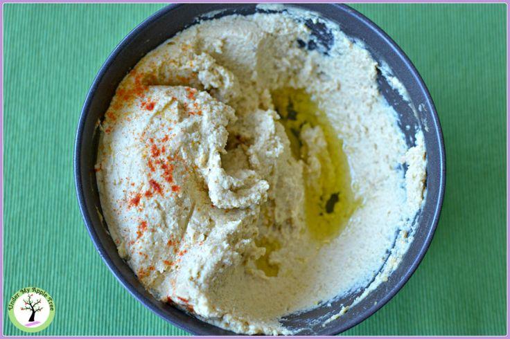 Red lentils hummus recipe
