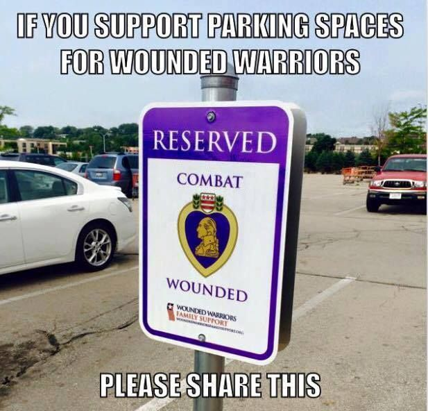 the thing is most wounded warriors would take advantage of this because they are too tough