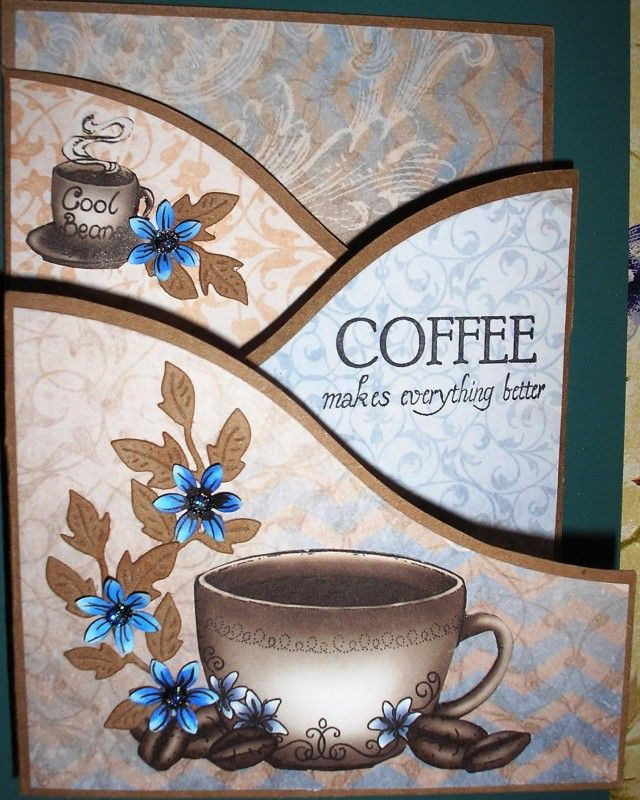 Coffee makes it better by Nan Cee's - Cards and Paper Crafts at Splitcoaststampers