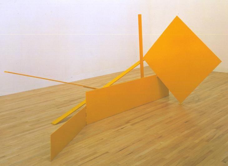 Sir Anthony Caro 'Yellow Swing', 1965 © The estate of Anthony Caro/Barford Sculptures Ltd