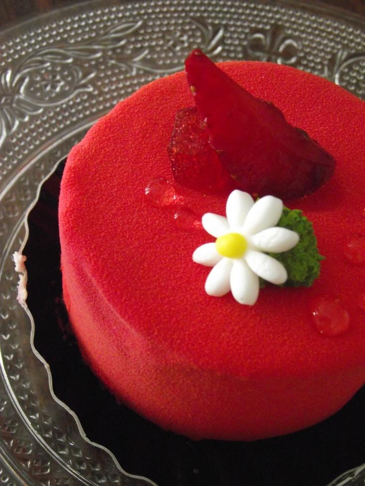 fraisier by Cyril Lignac...