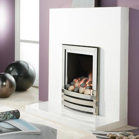 Sleek Modern Gas Fire Worldstoresco Living Room