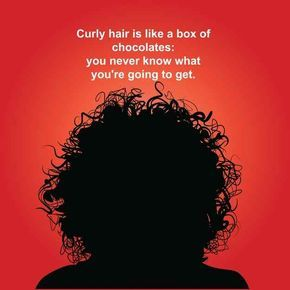 But living with curly hair means living in a constant state of chaos.