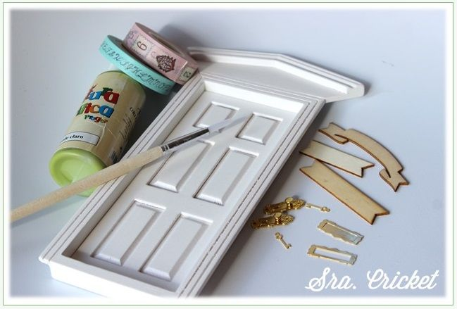 La puerta del ratón Pérez | Handbox Craft Lovers | Comunidad DIY, Tutoriales DIY, Kits DIY